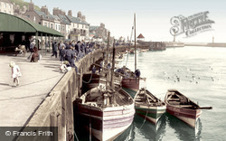 Whitby, The Quay 1927