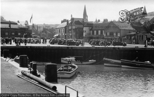Photo of Whitby, The Quay And Stream c.1935