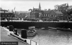 Whitby, The Quay And Stream c.1935