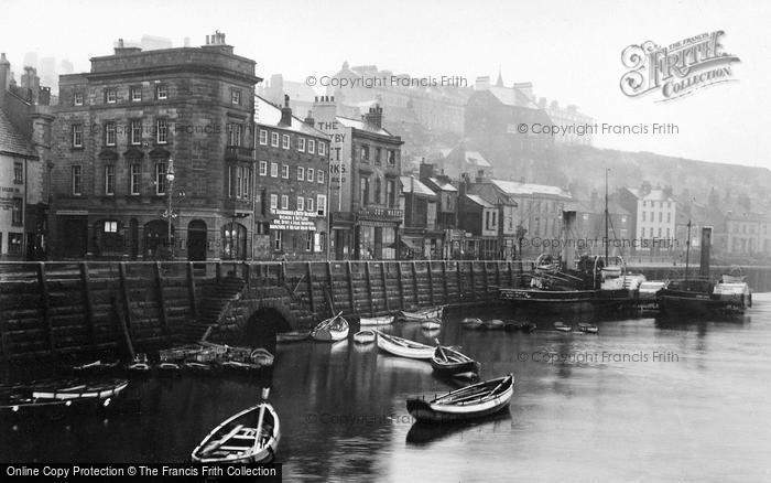 Photo of Whitby, The Quay c.1930