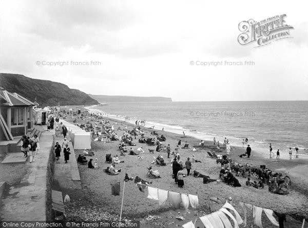 Photo of Whitby, The Sands 1923