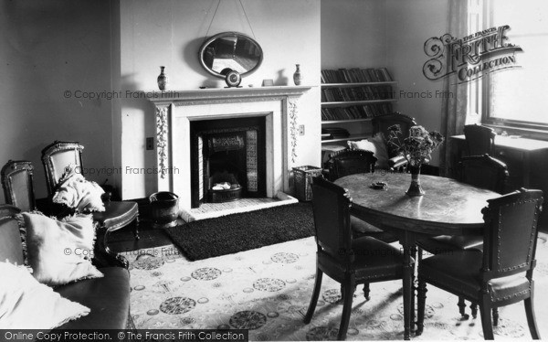Photo of Whitby, The Smoking Room, St Hilda C.E.Holiday Home c.1955