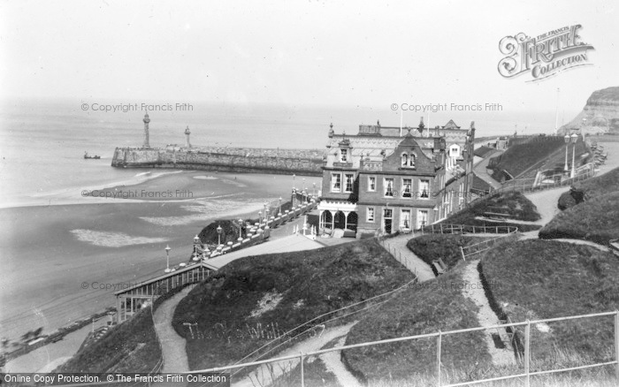 Photo of Whitby, The Spa And Pier c.1935