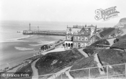 Whitby, The Spa And Pier c.1935