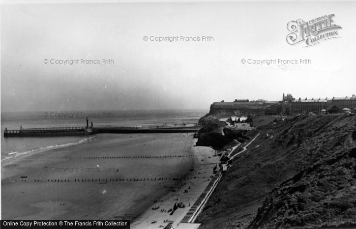 Photo of Whitby, The Spa And Seafront c.1955