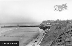 Whitby, The Spa And Seafront c.1955