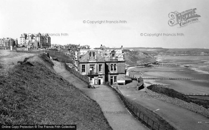 Photo of Whitby, The Spa And Theatre c.1955