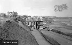 Whitby, The Spa And Theatre c.1955