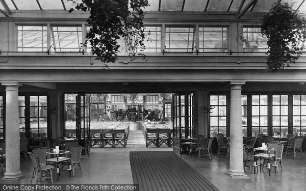 Photo of Whitby, The Spa Interior 1927