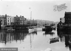 Whitby, The Swing Bridge c.1950