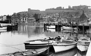 Whitby, the Upper Harbour c1950