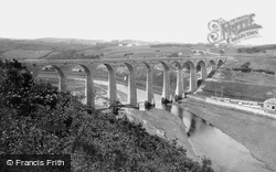 Whitby, The Viaduct 1884