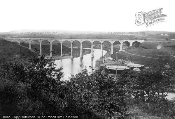 Photo of Whitby, The Viaduct 1884