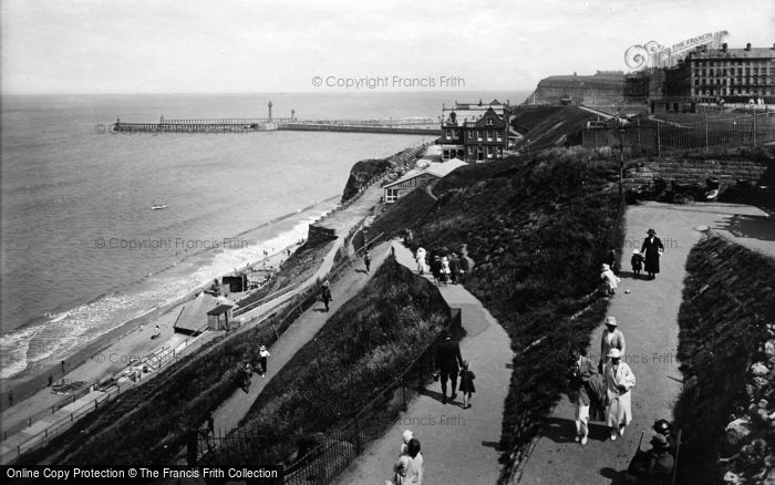 Photo of Whitby, The Zig Zag Path 1923