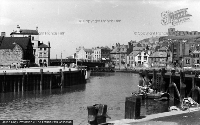 Photo of Whitby, Town From Car Park c.1950