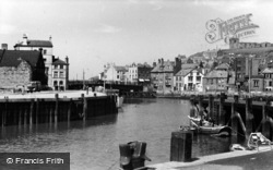 Whitby, Town From Car Park c.1950