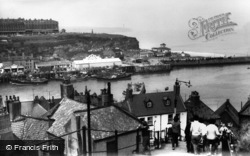 Whitby, View From The 199 Steps c.1960