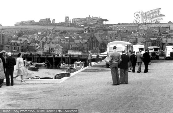 Photo of Whitby, View From The Car Park c.1950