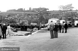 Whitby, View From The Car Park c.1950