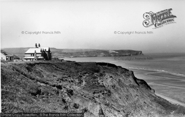 Photo of Whitby, View Towards Sandsend c.1955