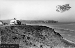 Whitby, View Towards Sandsend c.1955