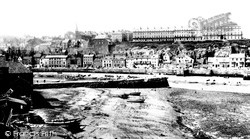Whitby, West Cliff 1891