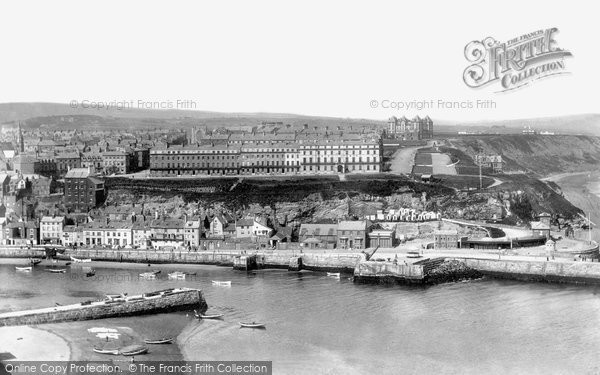 Photo of Whitby, West Cliff 1901