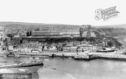 Whitby, West Cliff 1901