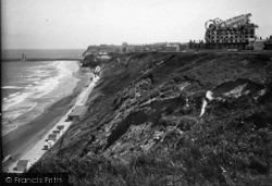 Whitby, West Cliff And New Promenade 1934