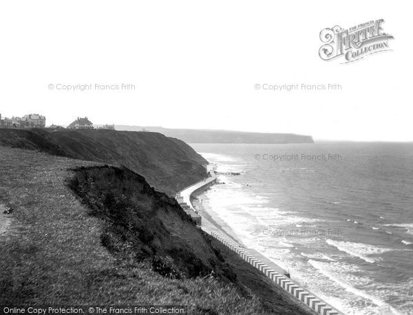 Photo of Whitby, West Cliff And New Promenade 1934