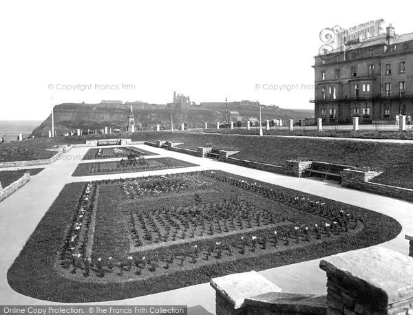 Photo of Whitby, West Cliff And Sunken Gardens 1923