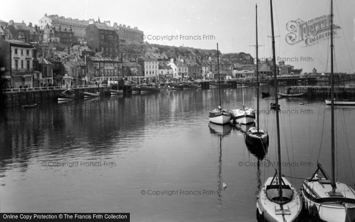 Photo of Whitby, West Cliff c.1950