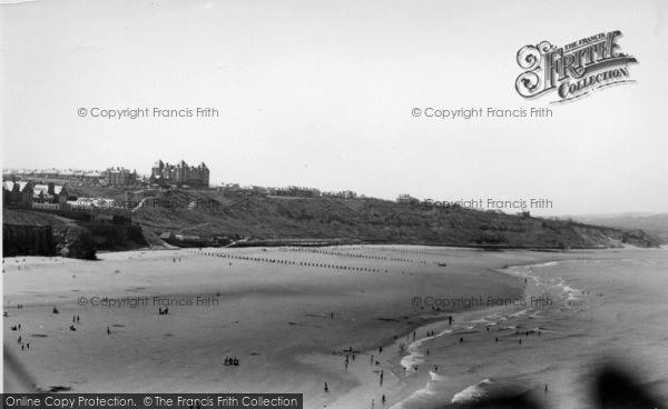 Photo of Whitby, West Cliff c.1955