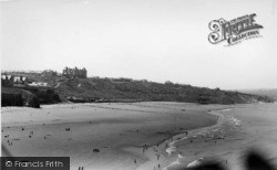 Whitby, West Cliff c.1955