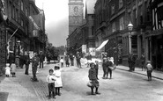 Whitchurch, a Busy High Street 1901