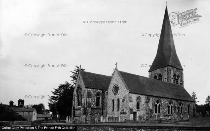 Photo of Whitchurch, All Hallows Church c.1939