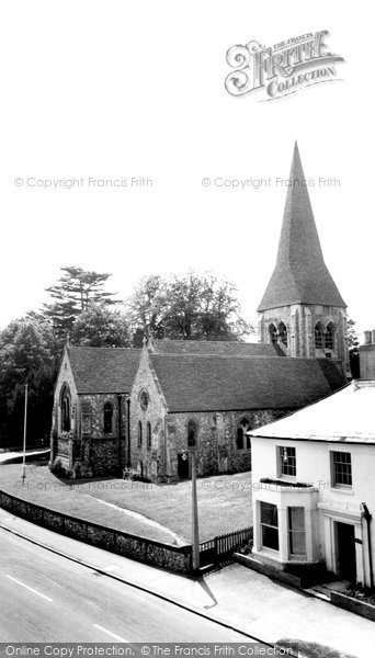 Photo of Whitchurch, All Hallows Church c.1960