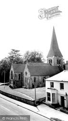 Whitchurch, All Hallows Church c.1960