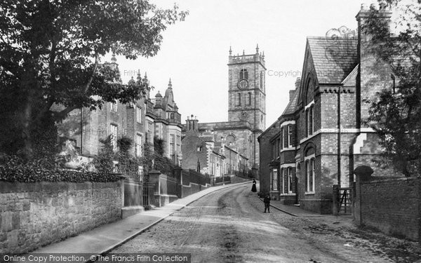 Photo of Whitchurch, Bargates And Grammar School 1898