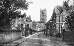 Whitchurch, Bargates And Grammar School 1898