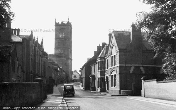 Photo of Whitchurch, Bargates c.1955