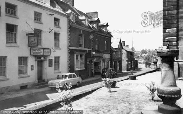 Photo of Whitchurch, Bargates c.1960