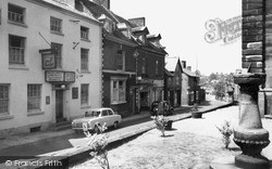 Whitchurch, Bargates c.1960
