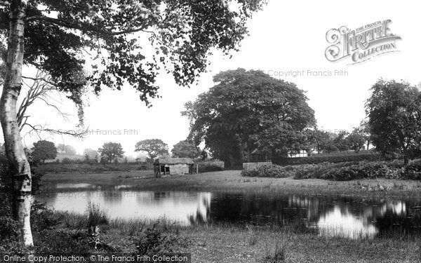 Photo of Whitchurch, Brown Moss Mere 1901