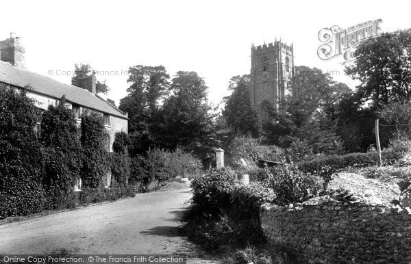 Photo of Whitchurch Canonicorum, Church Of St Candida From The West 1900