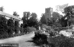 Whitchurch Canonicorum, Church Of St Candida From The West 1900