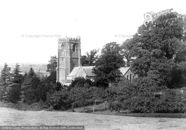 Photo of Whitchurch Canonicorum, Church Of St Candida, South East 1900