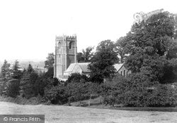 Whitchurch Canonicorum, Church Of St Candida, South East 1900