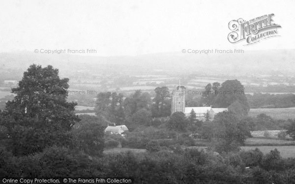 Photo of Whitchurch Canonicorum, General View 1903