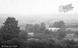 Whitchurch Canonicorum, General View 1903